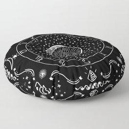 Zodiac Bandana Floor Pillow