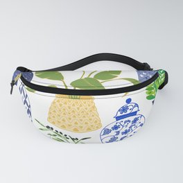 Chinoiserie Vases Fanny Pack