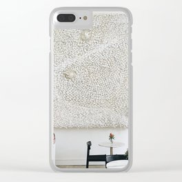 Coffee Break Clear iPhone Case