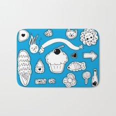 Sticker World Bath Mat
