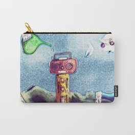 An Artistic Tribute to Radiohead Carry-All Pouch
