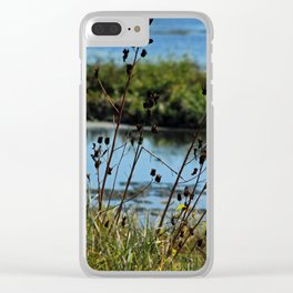 Resting Place Clear iPhone Case