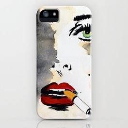 Ava. iPhone Case