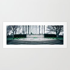 1916 Memorial Arbour Hill Dublin Ireland Art Print