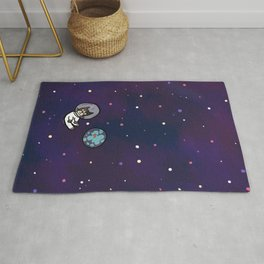 Luci in the sky Rug