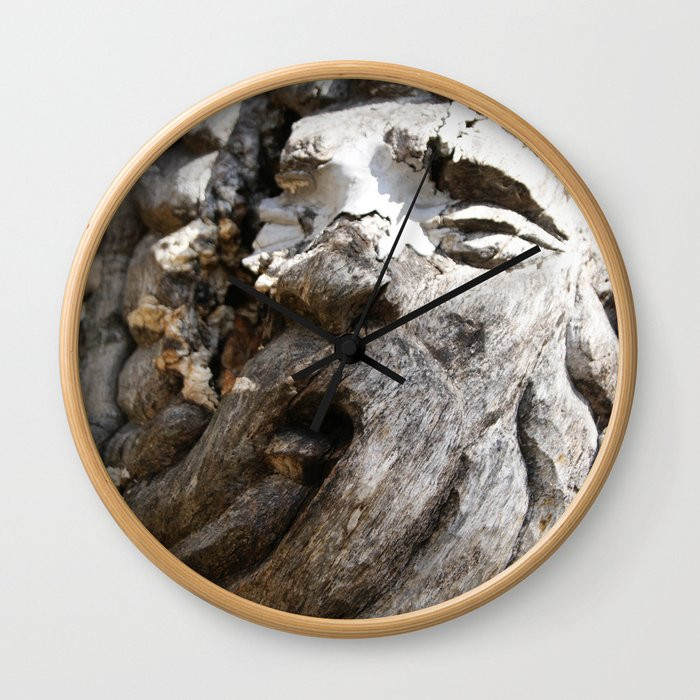 Tree Spirit Wall Clock
