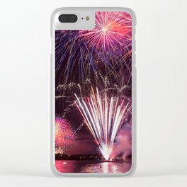 Fireworks on Sydney Harbour Clear iPhone Case