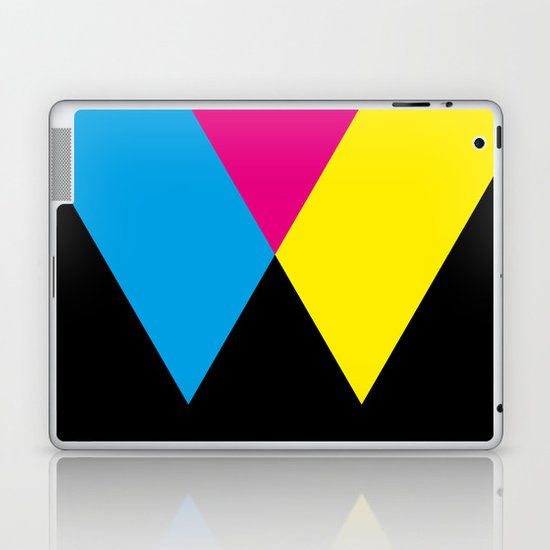 W like W Laptop & iPad Skin