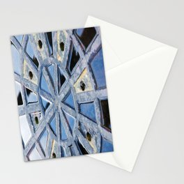 Circle Abstract Art Stationery Cards