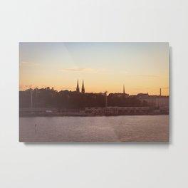 Postcard from Tallinn Metal Print