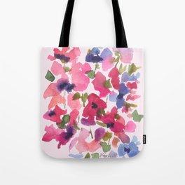 Monet's Rose Garden Tote Bag