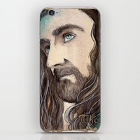 thorin iPhone & iPod Skins featuring Thorin by Kinko-White