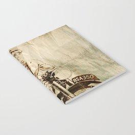 BSA - Vintage Poster Notebook