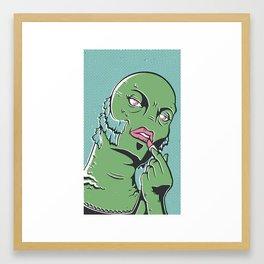 Swampie Framed Art Print