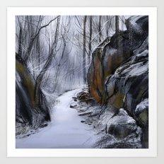 Conewago Trail Art Print