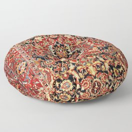 Heriz Northwest Persian Carpet Print Floor Pillow