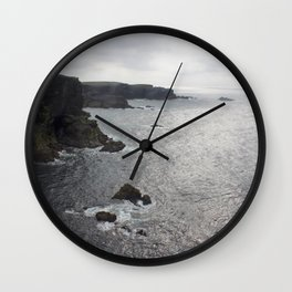 The Butt of Lewis 2 Wall Clock