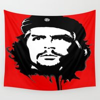 che Wall Tapestries featuring CHE by favewavearts