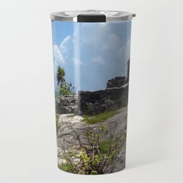 Mayan Ruins - Tulum Travel Mug