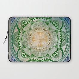Metta Mandala, Loving Kindness Meditation Laptop Sleeve