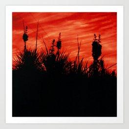 dark blooms Art Print