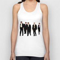 reservoir dogs Tank Tops featuring Reservoir Dogs by Tom Storrer