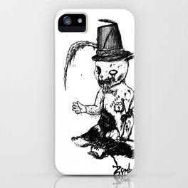 Zombunny iPhone Case