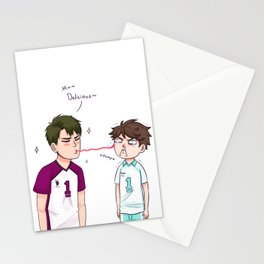 Salty tears Stationery Cards