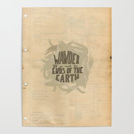 wander to the ends of the earth Poster