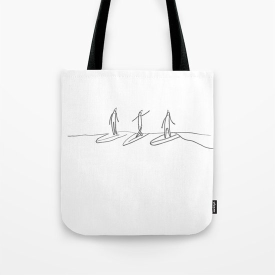 Party Wave Tote Bag