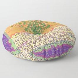 Carrot Love Floor Pillow