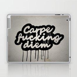 Carpe Fucking Diem Laptop & iPad Skin