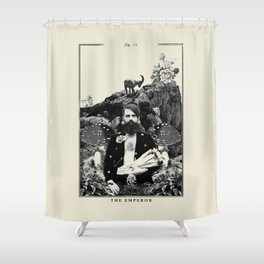 Fig. IV - The Emperor Shower Curtain