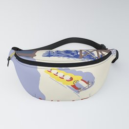 Lake Placid Olympic bobsled run Fanny Pack