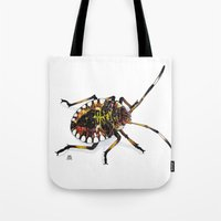bug Tote Bags featuring Bug by MSRomeiro