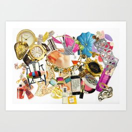 Shopaholic 4 Art Print