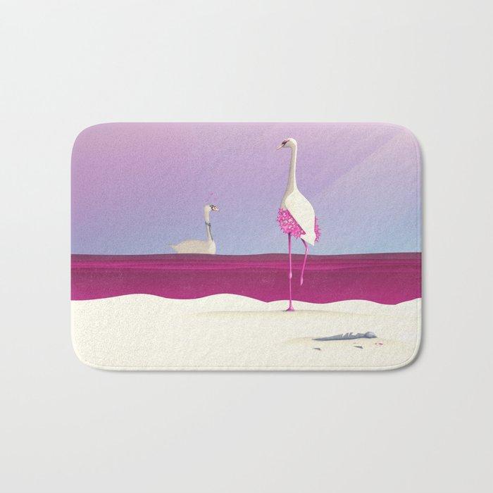 Flamingo Fatale Bath Mat