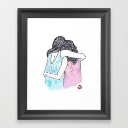 Everything's Gonna Be Okay Framed Art Print