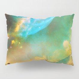 Vibrant Space Hiker Pillow Sham