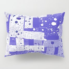 Abstract in blue Pillow Sham