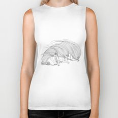 Southerly Sisters in a Northerly Wind Biker Tank