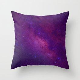 Space -  Universe - Galaxy - Stars - Sky Throw Pillow
