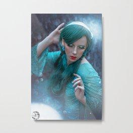 Fairy of the sea Metal Print