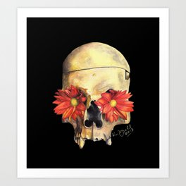 Beauty in Death Art Print