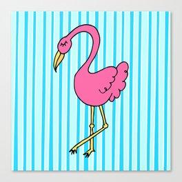 flamingerrrrr Canvas Print