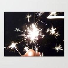Sparkling Sparklers Canvas Print