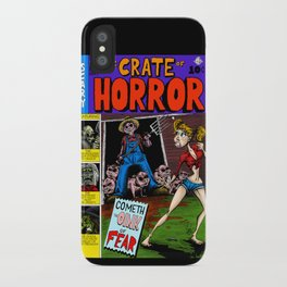 The Crate of Horror iPhone Case