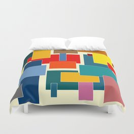 Color Blocks #8-3 Duvet Cover