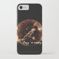 miles davis iPhone & iPod Cases featuring Miles Davis - Jazz´n away by ARTito