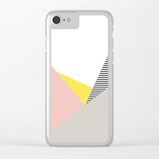 Minimal Complexity V.5 Clear iPhone Case